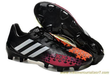 Cheap Black Silver Infrared Adidas Predator LZ TRX FG SL Boots ... cd05b6f9c2