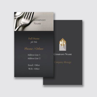 Food Catering Visiting Cards Templates Designs Page 2 Vistaprint Visiting Cards Visiting Card Creative Visiting Card Templates
