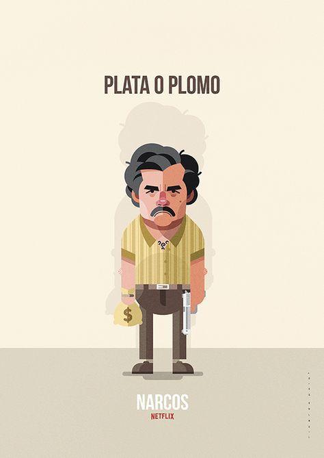 Ilustracion Del Personaje De Pablo Escobar Interpretado Por Wagner Moura En La Serie De Netflix Narcos Narcos Poster Pablo Emilio Escobar Narcos Wallpaper