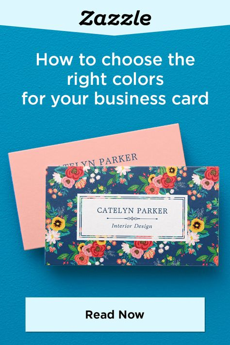 How to Choose the Right Color For Your Business Card - Zazzle