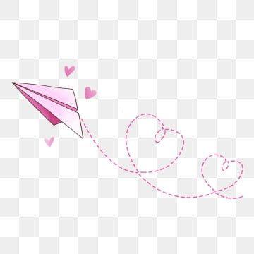 Hand Drawn Airplane Graffiti Simple Lines Stick Figure Pink Love Cartoon Heart Hand Drawn Heart Trajectory Dotted Li Cartoon Airplane Paper Plane Cartoon Paper