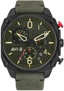 405235d0f Red Star Hand Wind Mechanical Chronograph with Moonphase #7756G-D ...