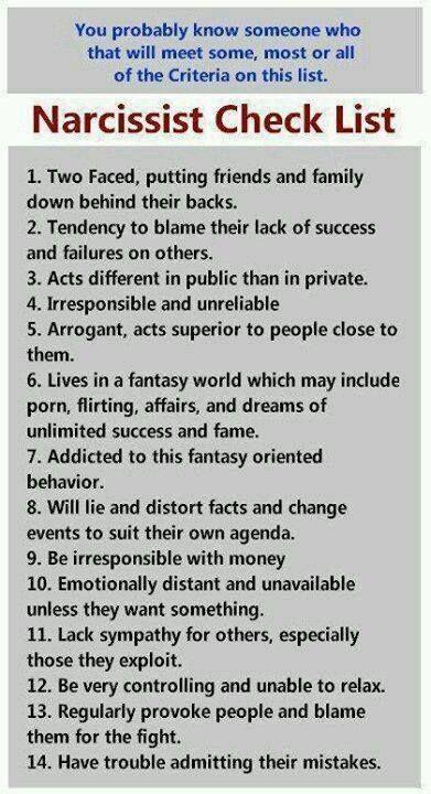 Divorce a narcissist