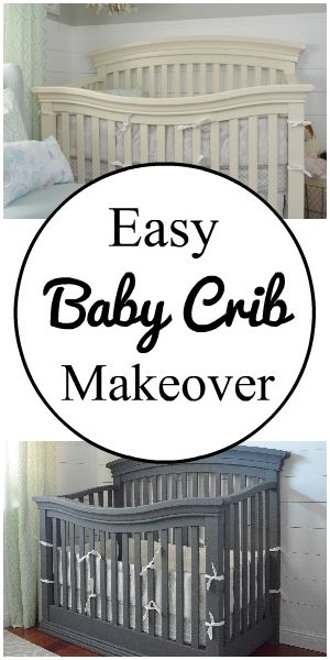 Easy And Safe Baby Crib Makeover Using A Paint Sprayer