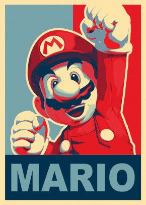 Super Mario Anime Manga Poster Print Metal Posters Irmaos Mario Desenho Super Mario Imagens Fofas