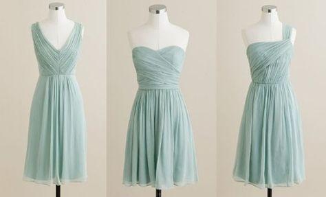 "Need help finding ""dusty shale/misty blue"" like bridesmaids dresses :  wedding bridesmaids chiffon color swatches colors dusty shale misty blue suggestions .jpg"