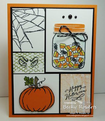 17 best images about carte scrap halloween on pinterest pumpkins halloween coloring pages and tri fold - Handmade Halloween Cards Pinterest