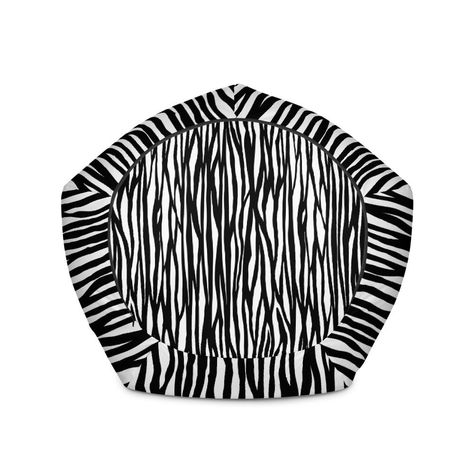 Strange Yamato Black White Zebra Animal Print Water Resistant Pdpeps Interior Chair Design Pdpepsorg