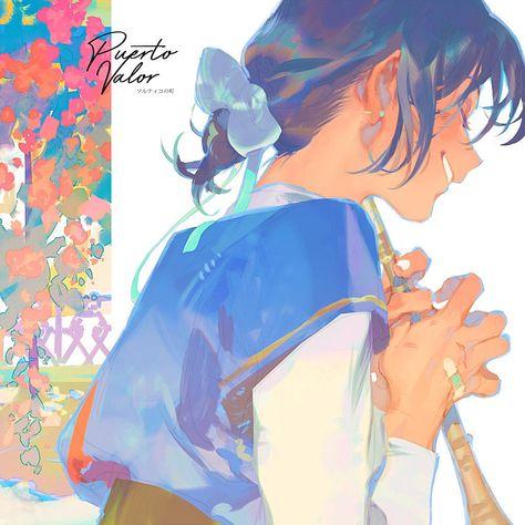 Art And Illustration, Illustrations, Character Illustration, Digital Painting Tutorials, Art Tutorials, Aesthetic Art, Aesthetic Anime, Pretty Art, Cute Art