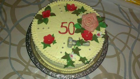 Torte Zum 50geburtstagalte Schraube Torten Von Mir