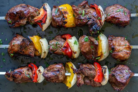 The Best Grilled Lamb Kabobs - Momsdish