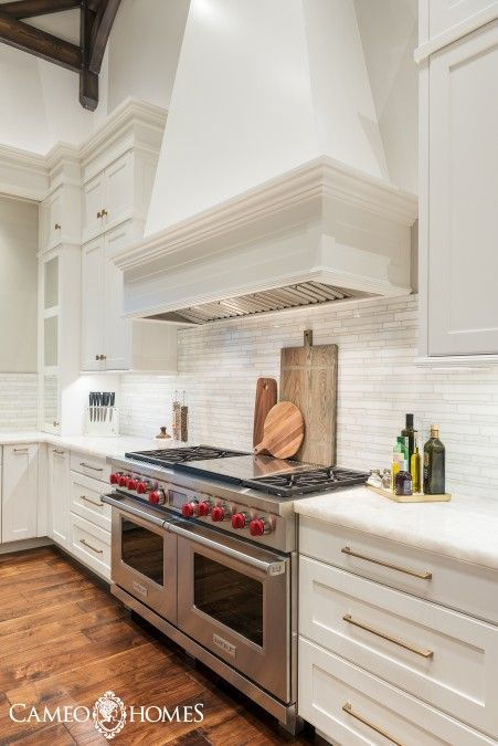 An Elegant Kitchen In A Home Built By Cameo Homes Inc Utah S