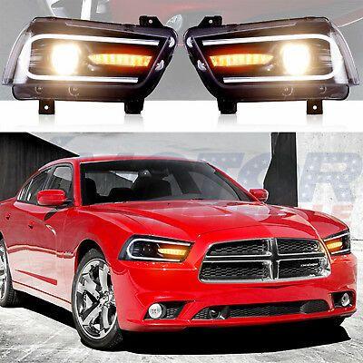 Headlights Led 2015 Model For 2011 2014 Dodge Charger Sequential Turn Indicator 2014 Dodge Charger Dodge Charger Dodge