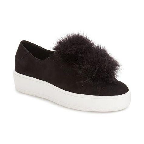 d0f453c25f4 Women s Steve Madden  Bryanne  Puffball Platform Sneaker (€85) ❤ liked on