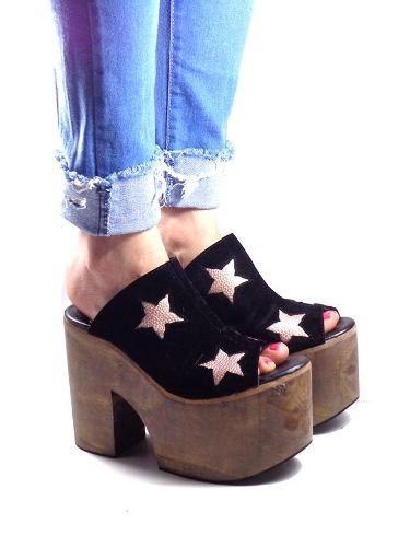 1bae2ddf Sandalia Mujer Taco Plataforma Fiesta Moda Verano 2017 2018 - $ 990,00    love platforms en 2019   Zapatos, Zapatos sandalias y Sandalias
