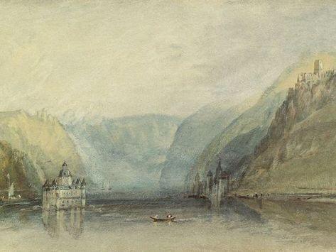 Artland Canvas Print Jm William Turner The Palatinate At Kaub