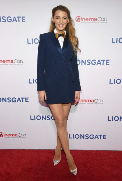 Actor Blake Lively attends CinemaCon 2018.