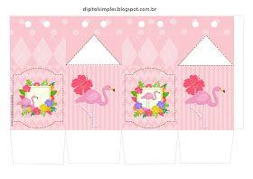 Kit Festa De Aniversario Flamingo Rosa Festa De Aniversario