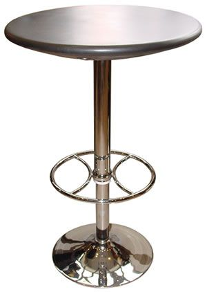 Round Bar Table High Top Dining, Tall Round Table