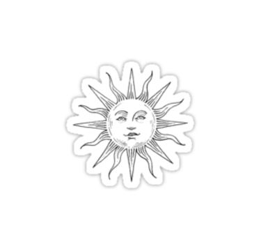 Tumblr Inspired Sun Logo by selinuenal13