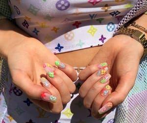 Imagen De Aesthetic Alternative And Bright Pretty Acrylic Nails Cute Nails Nail Inspo