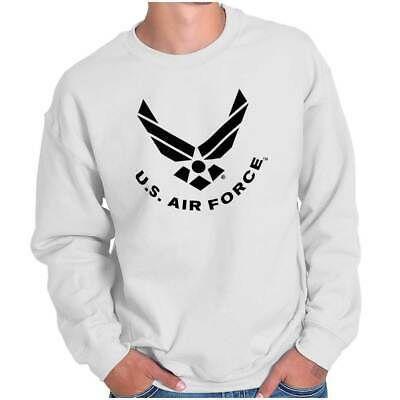 USAF American Official Air Force Logo Gift Crewneck Sweat Shirts Sweatshirts