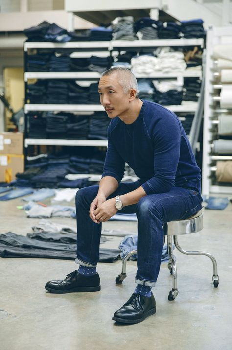 After hearing Levi's current Head of Design, Jonathan Cheung, give an insightful speech on the future of branding and retail at WGSN's Futures conference, we were inspired to speak with him more about his role at the 164 year old denim company.