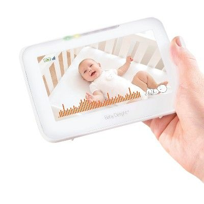 Baby Delight 5 Video, Movement & Positioning Monitor, White