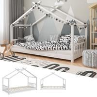 Vitalispa Kinderbett Hausbett Design 90x200cm Kinder Bett Holz Haus Hausbett Kinder Bett Haus Kinderbett Design Kinder Bett