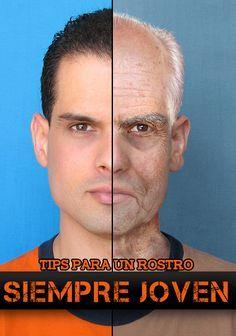 Como rejuvenecer el rostro hombres