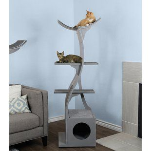 Hennessy 43 Modular Modern Cat Tree Joss Main Modern Cat Tree Modern Cat Cat Towers