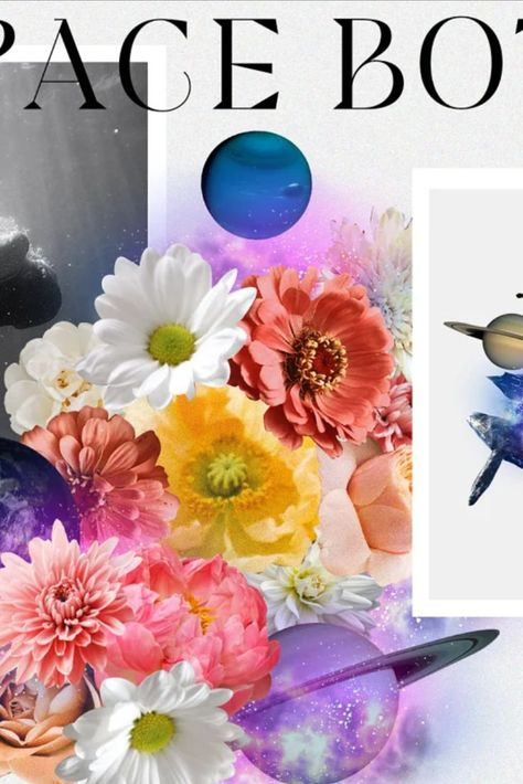 Space Botany. Collage Creator
