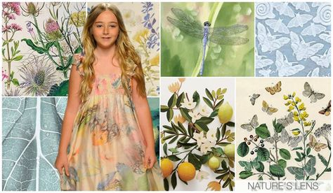 Girls' graphic forecast ss 2016, Natures Lens