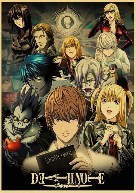 Death Note Posters Retro Posters - Q027 8