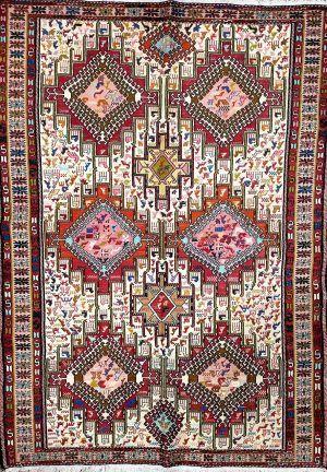 Afghan Turkish Kilim Handwoven