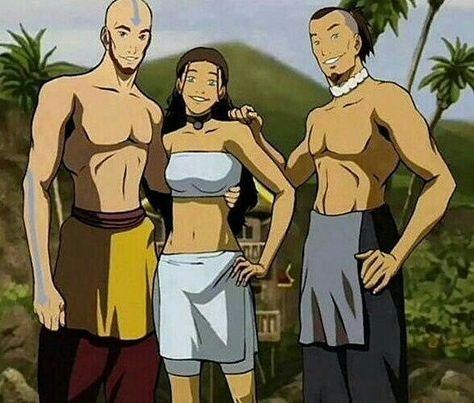 Look at this hot guys ❤👌 - tokka_kataang.maiko