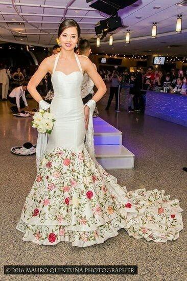 Vestidos De Novia Para Boda Mexicana 2 En 2019 Vestidos