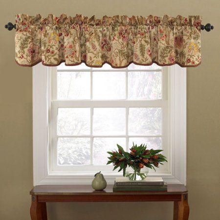 Waverly Imperial Dress Window Valance Antique Window Valance Valance Valance Curtains