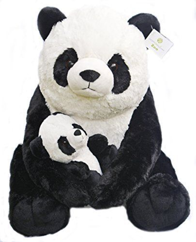 Robot Check Panda Stuffed Animal Plush Animals Baby Panda