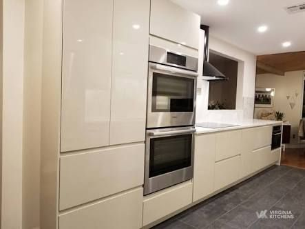 Image Result For Ikea Voxtorp Light Beige Kitchen En 2019