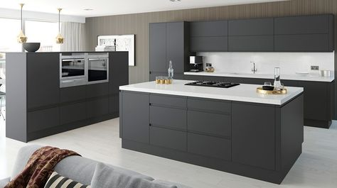 Next - Horizon Anthracite Kitchen design #ห้องครัว Pinterest - nolte küchen planer