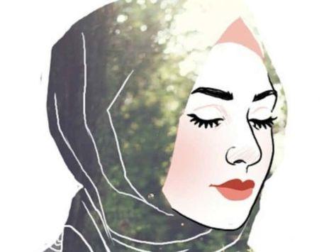Terbaru 30 Gambar Kartun Wanita Berhijab Dari Samping 30 Gambar Kartun Muslimah Bercadar Syari Cantik Lucu Download Gambar Kartun Kartun Gambar Wajah Kartun