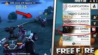 Jugando Al Nuevo Modo Zombie En Free Fire Actualizacion
