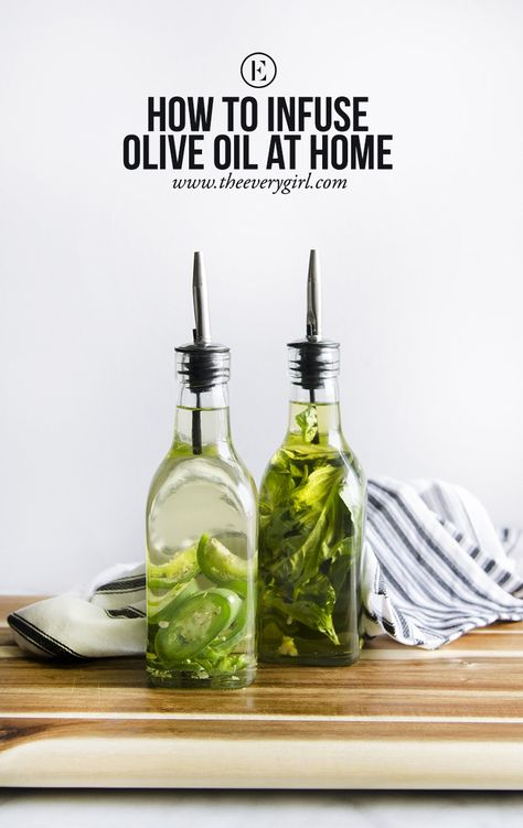 How to Infuse Olive Oil at Home #theeverygirl