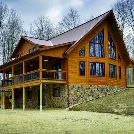 75 Best Log Cabin Homes Plans Design 23 Log Cabin Homes Cabin Homes Log Homes