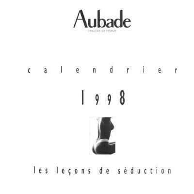exclusive shoes exquisite design online shop Couverture du Calendrier 1998 - Aubade | Aubade Calendar ...
