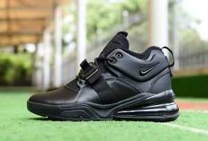 new concept e5b7d 52beb Mens Sneakers Nike Air Force 270 Triple Black | Nike Air Max ...