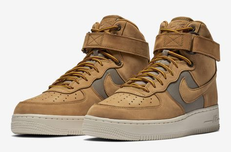 "This Year s ""Wheat"" Nike Air Force 1 High Comes With A Twist  8435b9a423f1"