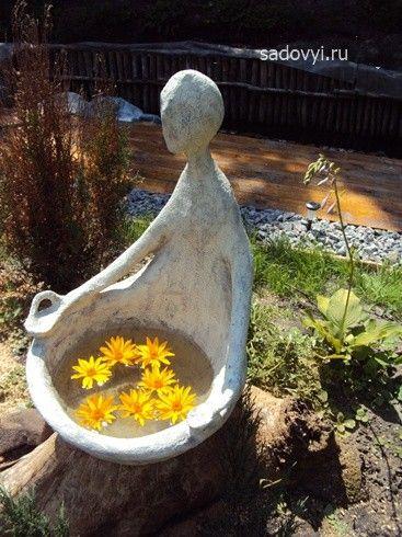 Купить садовую скульптуру из бетона плотность бетонной смеси в15