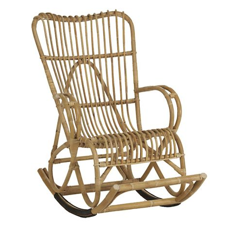Rocking Chair Seventies Avec Images Chaise A Bascule Fauteuil Rocking Chair Chaise Rotin